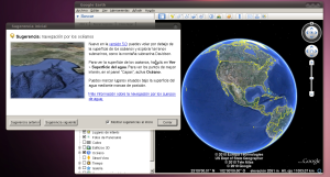 Aplicacion Google Earth